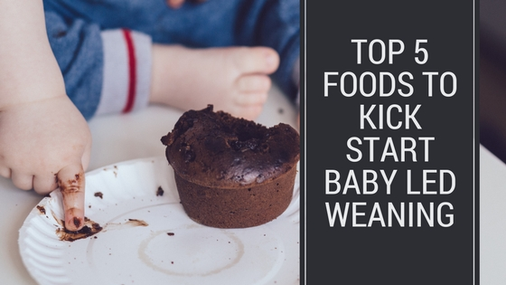 Top 5 Foods To Kick Start Baby Led Weaning