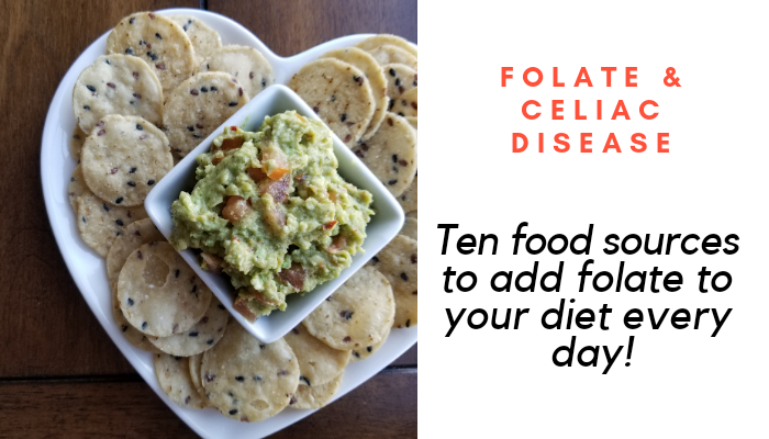 Folate & Celiac Disease: Ten food sources to add folate to your diet every day!