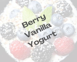 Berry Vanilla Yogurt