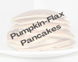 Pumpkin-Flax Pancakes